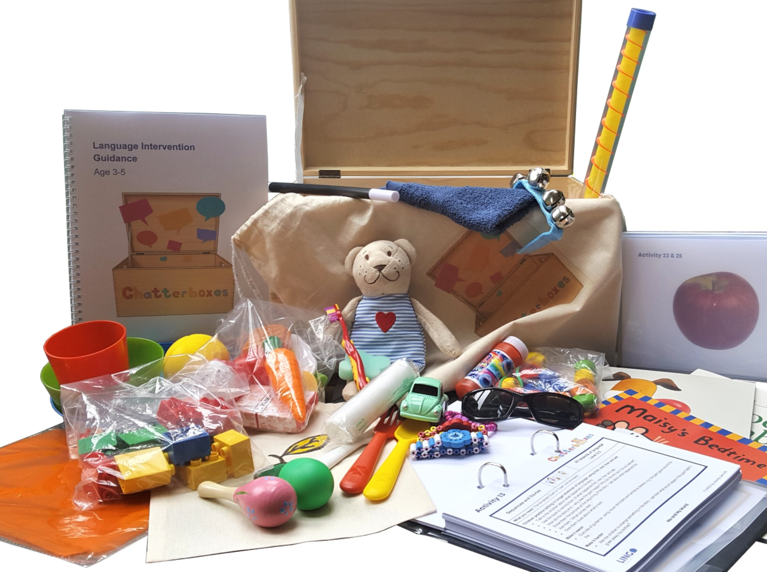 Chatterboxes Toys , Games and Activities